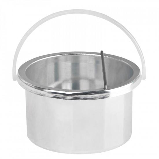 Ohrievač depilačného vosku v plechovke Pro-Wax 100 W / 400 ml, biely