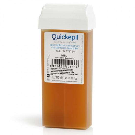 Vosk na depiláciu rolka Quickepil 110g, natural