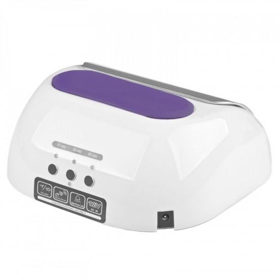 Profesionálna lampa na nechty 2v1 UV LED + CCFL 48W timer + senzor biela