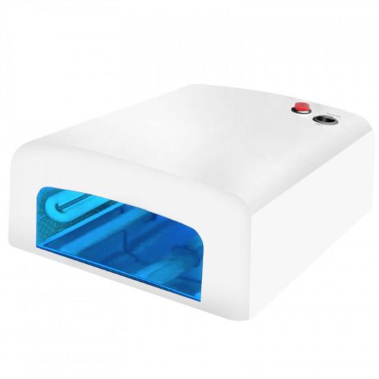 Brúska na nechty JD500 biela + UV lampa 818A