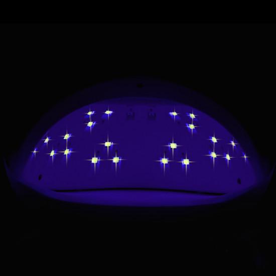 UV Dual LED lampa na nechty SUN 5SE 48W