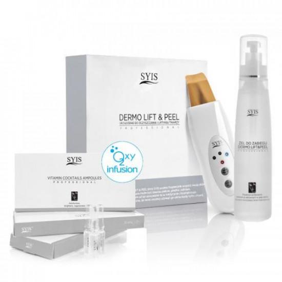 SYIS Kozmetický prístroj Dermo Lift & Peel zlatá špachtľa + SYIS kozmetika