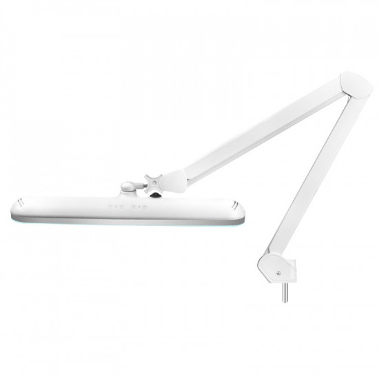Kozmetická lampa LED ELEGANTE 801-TL s reguláciou intezity a farby + statív , biela