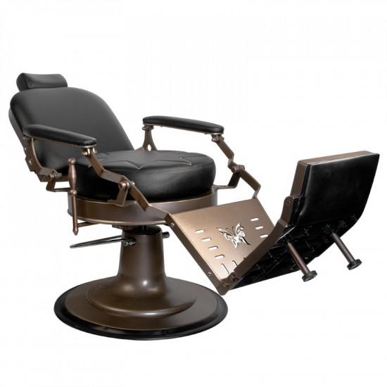 Barberske kreslo Gabbiano Black Star