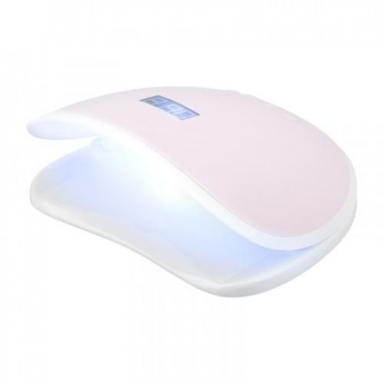 Profesionálna lampa na nechty Dual LED UV S8 68W pink