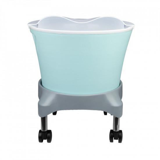 Vanička na pedikúru Azzurro 981 vozík + misa