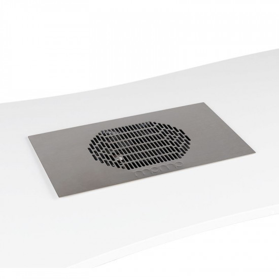Vstavaná kazetová odsávačka prachu na nechty MOMO S41 chróm