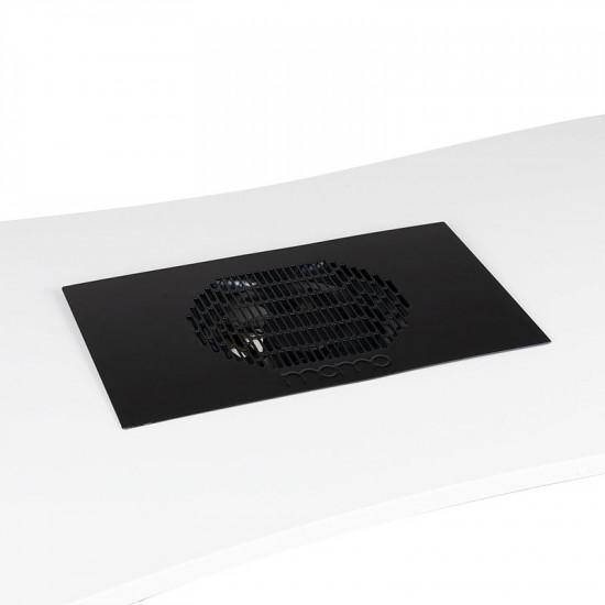 Vstavaná kazetová odsávačka prachu na nechty MOMO S41 čierna