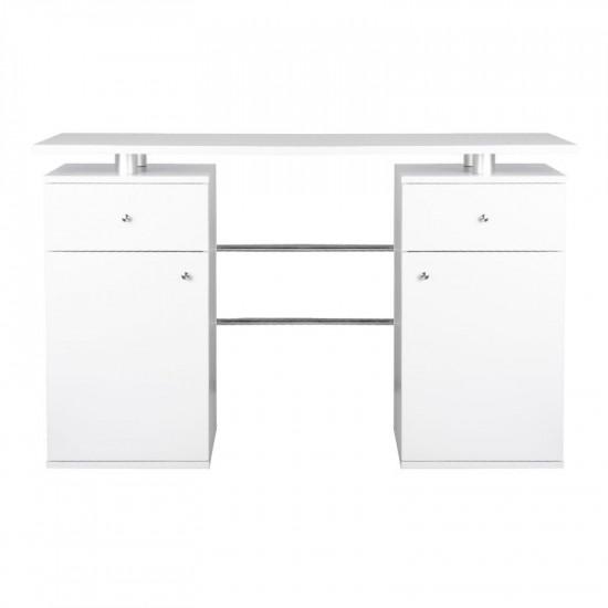 Stôl na manikúru MT-34 biely