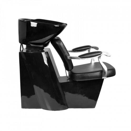 Kadernícky umývací box Gabbiano Molise čierny