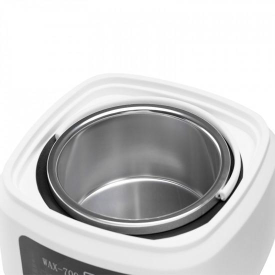 Ohrievač depilačénho vosku  pro wax 700 v plechovke 500 ml biely