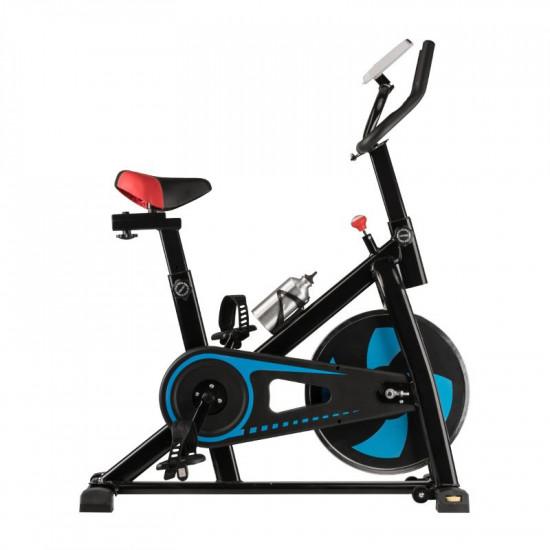 Spiningový tréningový bicykel Magneto 20 čierno-modrý
