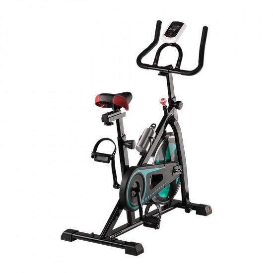 Spiningový tréningový bicykel Magneto 20 čierno-zelený