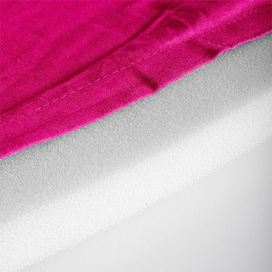 Veľká akupresúrna podložka ActivFizjo Basic ružovo-biela s vankúšom