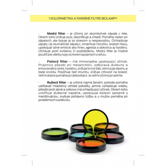 Ako svietiť a používať farebné filtre