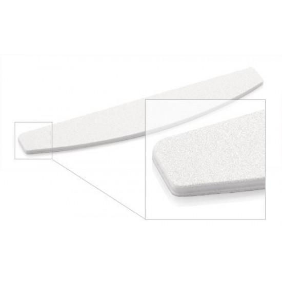 Pilník polmesiac 100/180 biely 1 ks